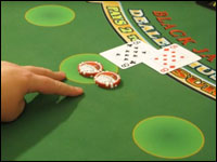 Separare due carte uguali al Blackjack