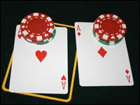 Separare due Assi al Blackjack
